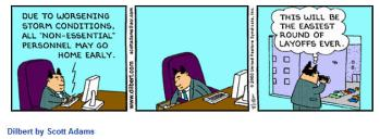 Dilbert Layoffs