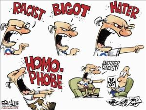 BIGOT, RACIST, HATERS