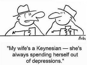 keynesian cartoon
