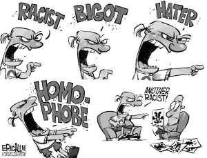 Racism-cartoon