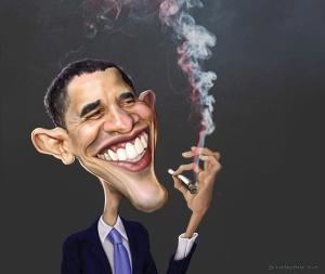 lucky obama