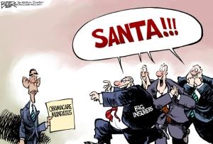 Corporatism Santa