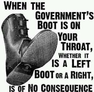 Government boot