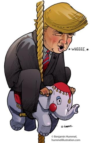 trump-go-round