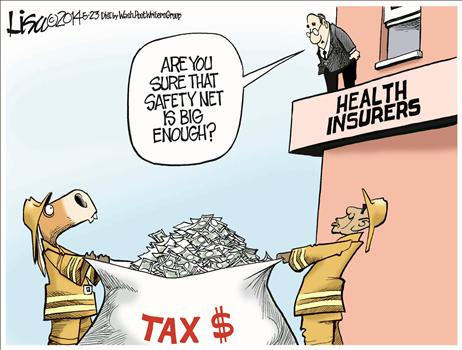 health insurer bailout